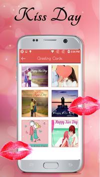 Kiss Day Greeting Cards 2018 apk screenshot