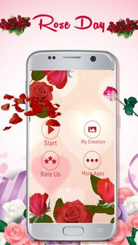 Rose Day Greeting Cards Maker poster