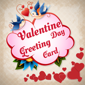 Valentine Greeting Cards Maker 2018 icon
