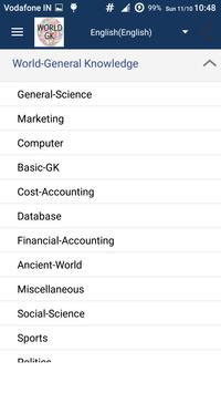 General Knowledge - World GK screenshot 2