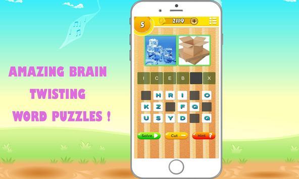 2 Pics 1 Word Quiz screenshot 1