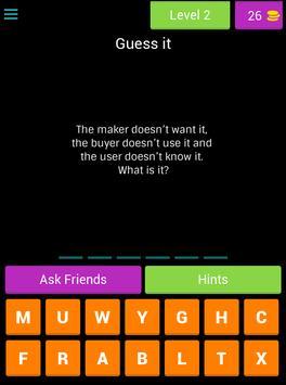 Guess the riddles - Fun Game screenshot 9