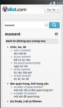 VDict - Vietnamese Dictionary apk screenshot