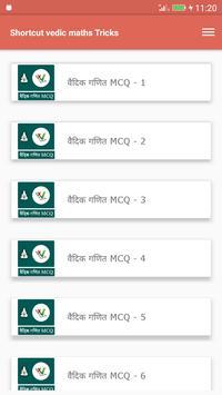 Shortcut vedic maths Tricks screenshot 5