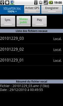 VDLysPDA Voc apk screenshot