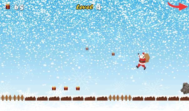 Christmas Santa Run 2 apk screenshot