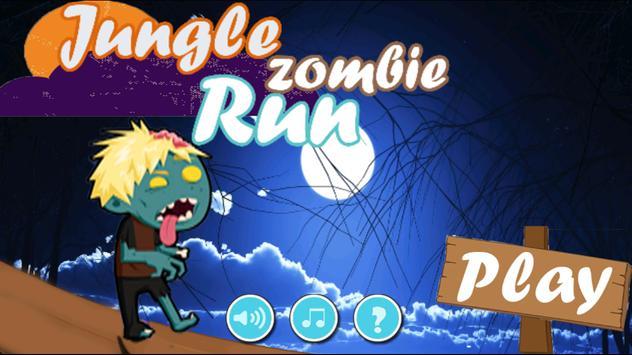 Jungle Zombie Run poster