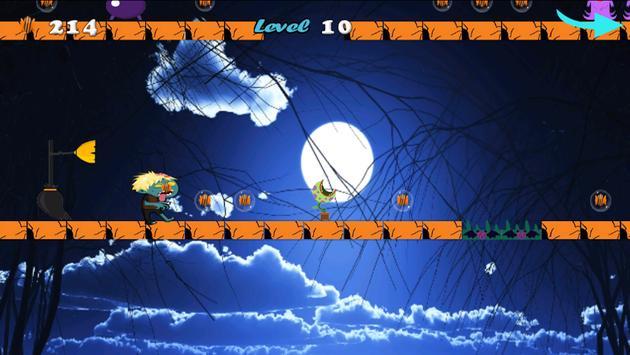 Jungle Zombie Run apk screenshot