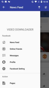 Video download from Social network screenshot 4