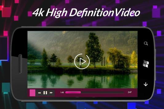 4K Video Player apk screenshot