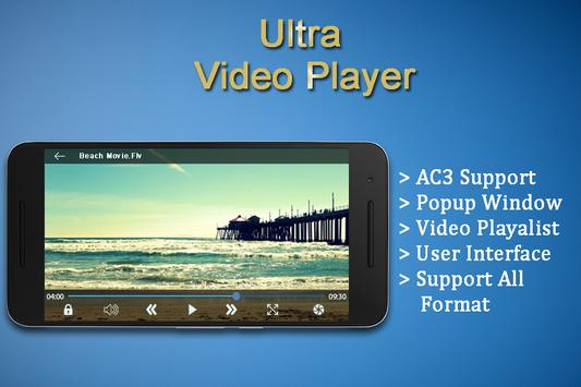 Ultra Video Player apk screenshot