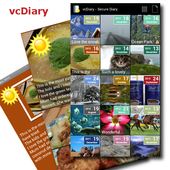vcDiary Lite- Secure Diary icon