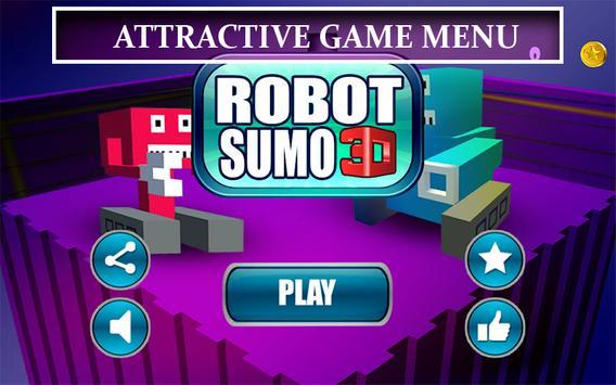 Sumotori Robot - Bot Sumo 3D screenshot 4