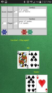 BlackJack by Vector apk screenshot
