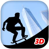 Shadow Parkour Skate icon