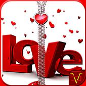 Love Zipper Lock icon