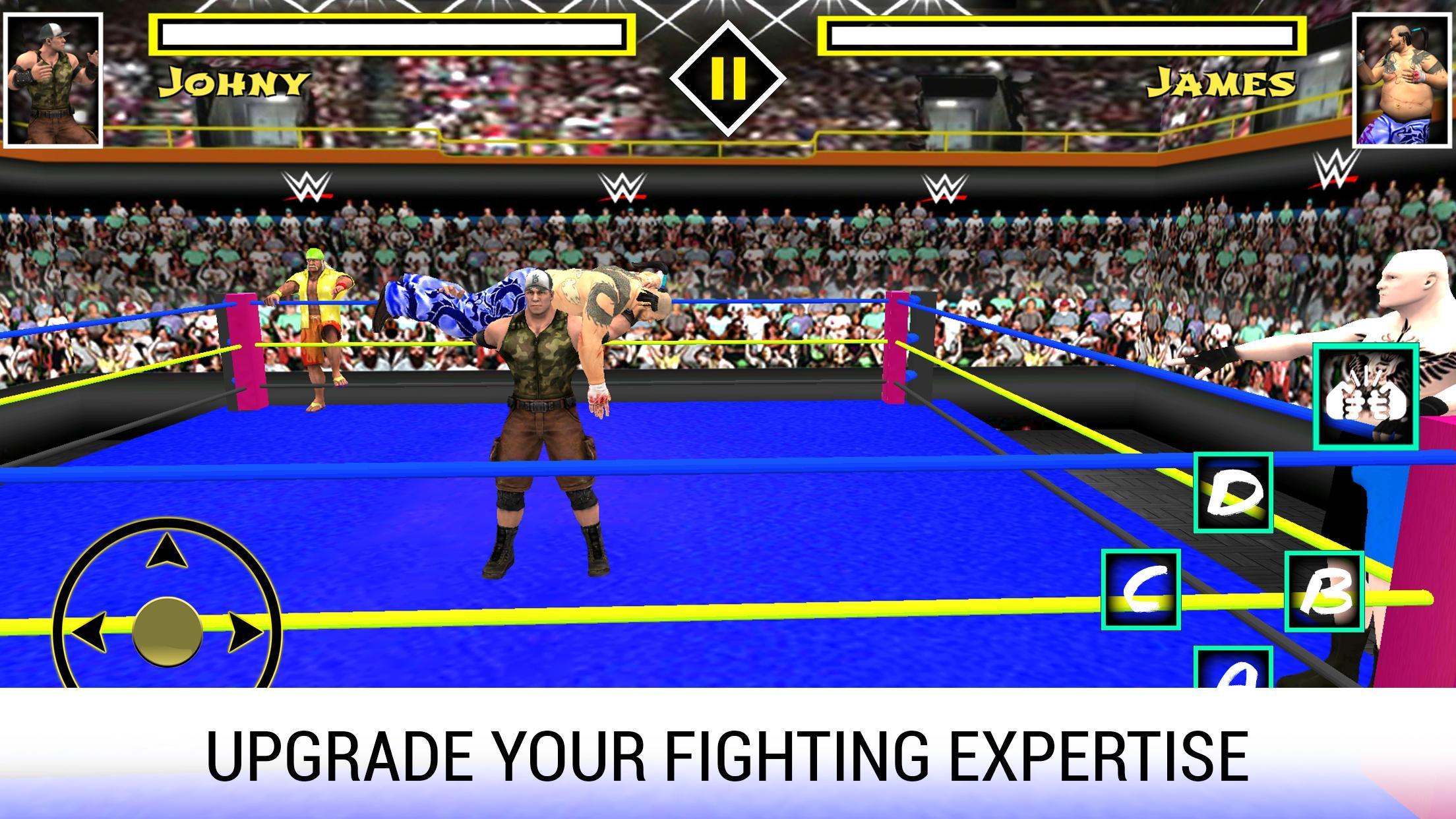World Wrestling Revolution 3D - World Impact Stars for Android - APK