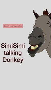 SimiSimi talking Donkey apk screenshot