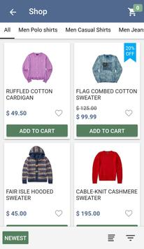 Fashion Ionic Ecommerce Mobile App with CMS for Android - APK Download