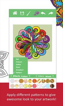 Mandala Adult Coloring Book Apk Screenshot