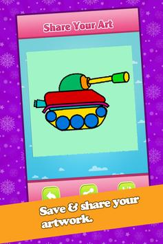 Kids Car Coloring Book & Pages apk screenshot
