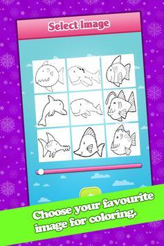 Kids Fish Coloring Book Pages screenshot 1