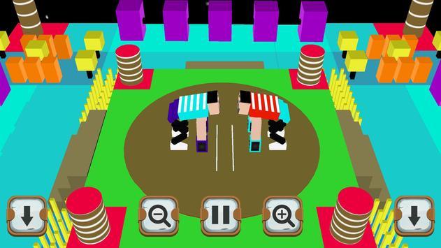 Sumotori Wrestle screenshot 1
