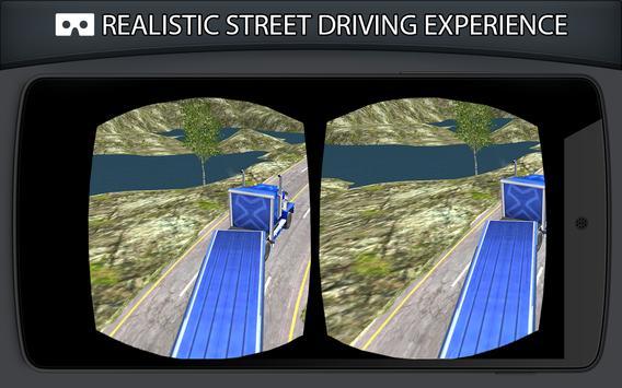 VR Cargo Truck 3D Simulator apk screenshot