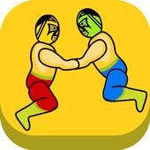 Wrestle Physics Jump icon