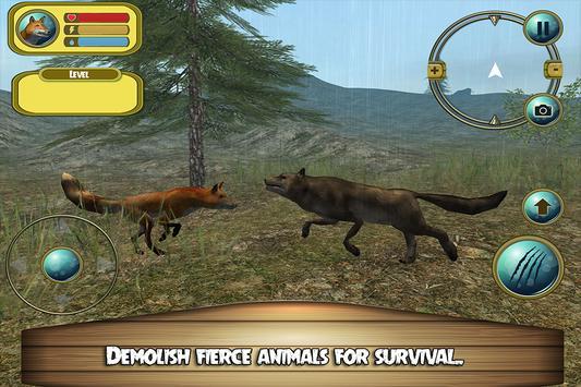 Extreme Wild Fox Simulator 3D apk screenshot