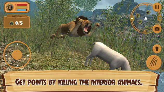 Extreme Wild 3d Lion Simulator apk screenshot