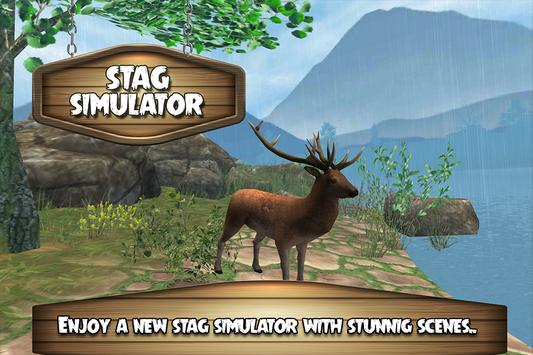 Extreme Wild Stag Simulator 3D poster