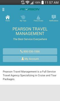Pearson Travel Mobile poster