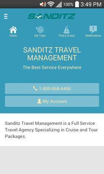 Sanditz Travel Mobile poster