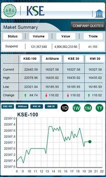 Warid Stock Exchange apk screenshot