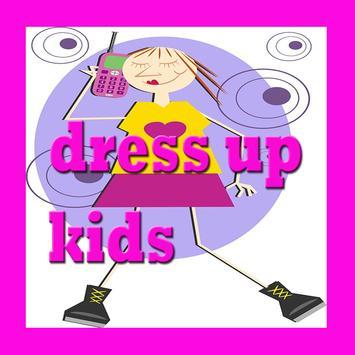 dress up kids poster