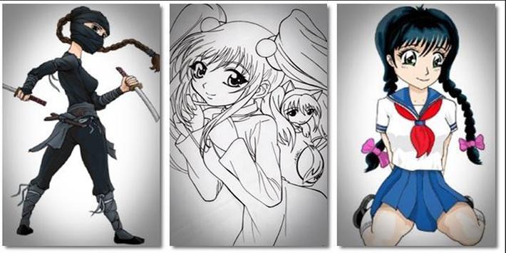 DIY Manga Drawing New Free screenshot 1