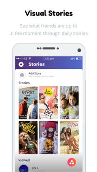 Vebbler - Photo Albums, Stories, Camera & Stickers apk screenshot
