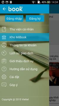 Mibook - Kho Ebook Đặc Sắc imagem de tela 4