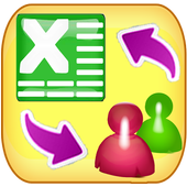 Contacts 2 Excel : Reinvented icon