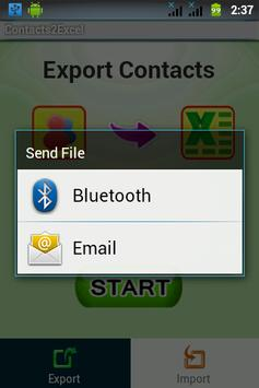 Contacts 2 Excel : Reinvented screenshot 4