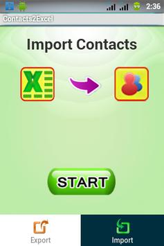 Contacts 2 Excel : Reinvented screenshot 5