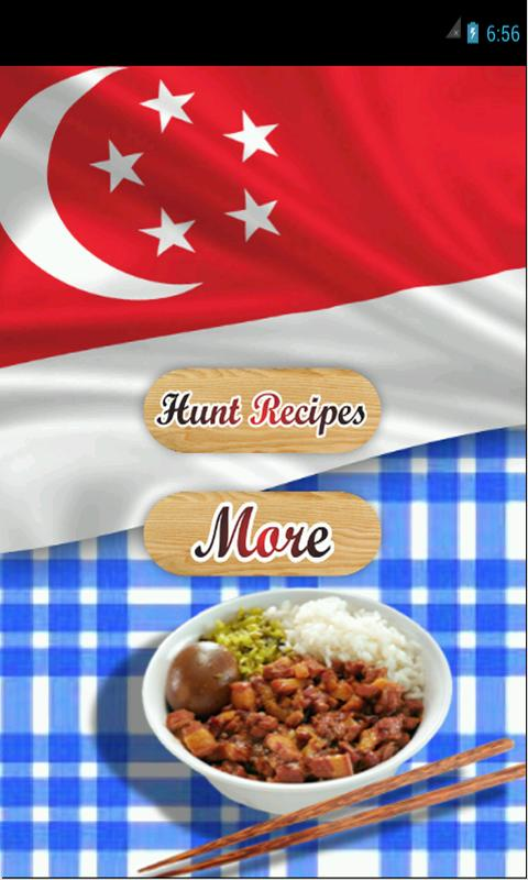 Singapore Food Recipes poster