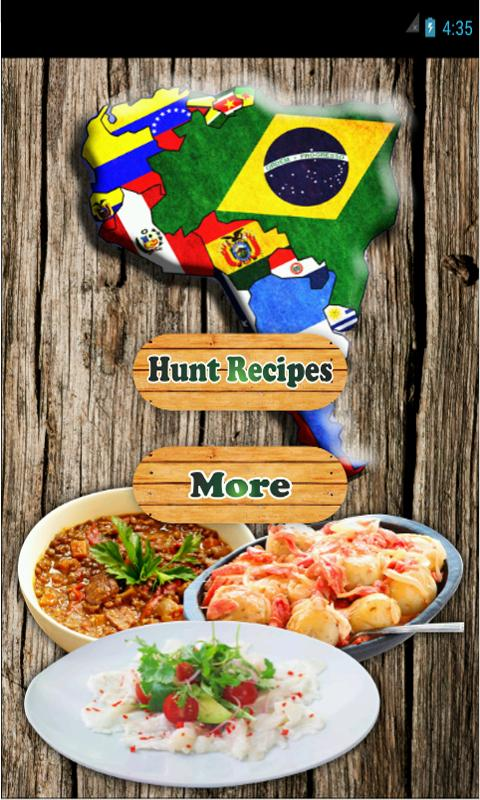 South American Food Recipes poster