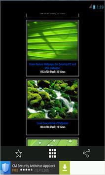 Green Natrure  wallpaper apk screenshot