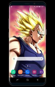 Dragon Fanart Vegeta Super Saiyan Live Wallpaper screenshot 1