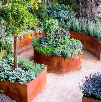 vegetable garden ideas poster