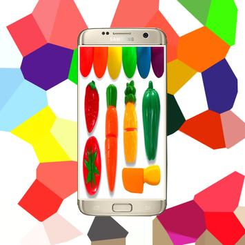 Learn Colors Vegetables Kids apk screenshot