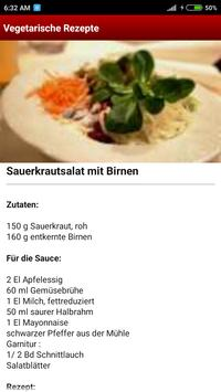 Vegetarische Rezepte screenshot 3