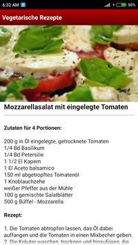 Vegetarische Rezepte screenshot 2